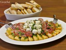 Melonen-Mozzarella-Schinkenplatte - Rezept - Bild Nr. 8868