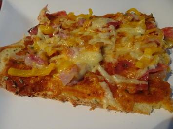 Kartoffel-Pizza - Rezept - Bild Nr. 8869