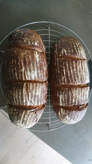 Brot mit Weizensauerteig - Rezept - Bild Nr. 8869