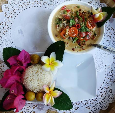 Gemüsepfanne mit scharf-würziger Kokosmilch - Rezept - Bild Nr. 8876