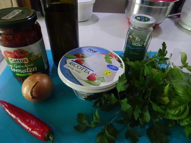 Italienischer Brotaufstrich mit Ricotta - Rezept - Bild Nr. 8879