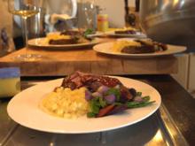Lamm/ Kräuter/ neue Kartoffel/ Sommergemüse/ Portwein - Rezept - Bild Nr. 2