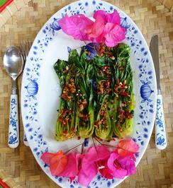 Vietnamesischer, pfannengerührter Pok Choi - Rezept - Bild Nr. 2