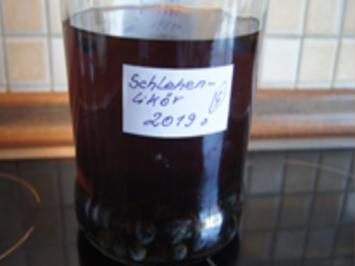 Schlehenlikör 2019 - Rezept - Bild Nr. 2