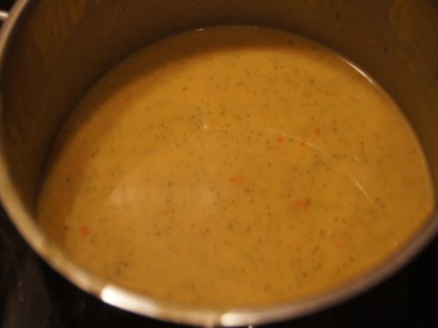 Herzhafte Zucchini Suppe mit Einlage - Rezept - Bild Nr. 10
