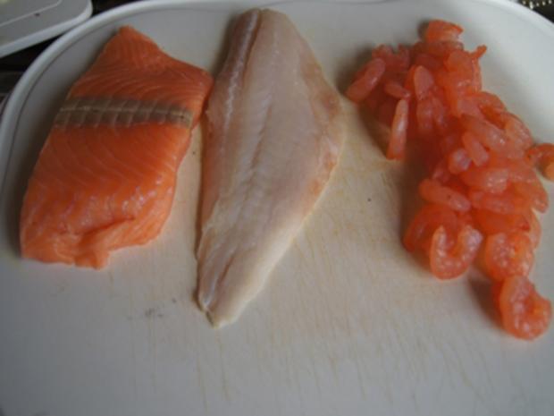 Wok-Fischvariation in Kokossauce mit Basmatireis - Rezept - Bild Nr. 8