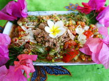 Gemischter Gurkensalat mit Thunfisch à la Desi - Rezept - Bild Nr. 2