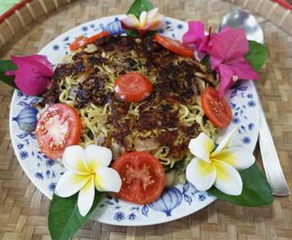 Nudelpfanne mit Kai-Lan und Shimeji-Pilzen - Rezept - Bild Nr. 2