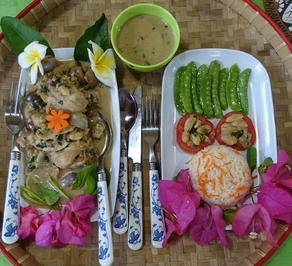 Laotisches Ingwerhuhn in Kokosmilch - Rezept - Bild Nr. 2