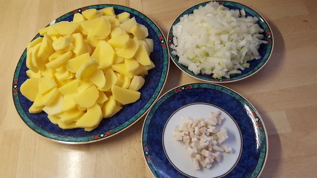 Hausgemachte Bratkartoffeln - Rezept - Bild Nr. 8982