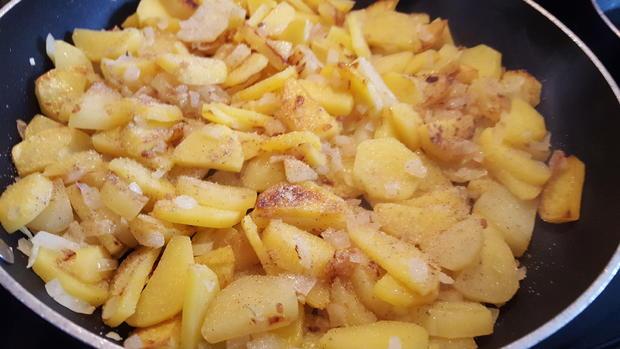 Hausgemachte Bratkartoffeln - Rezept - Bild Nr. 8987