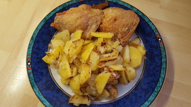 Hausgemachte Bratkartoffeln - Rezept - Bild Nr. 8988
