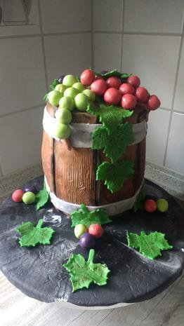 Weinfasskuchen auf amerikanische Art - Rezept - Bild Nr. 9001