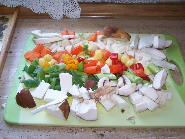 Gemüse Paste nach Art von Petra - Rezept - Bild Nr. 8978