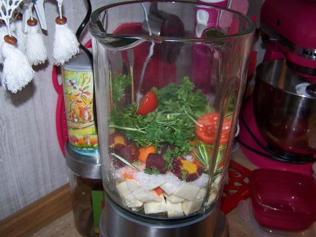 Gemüse Paste nach Art von Petra - Rezept - Bild Nr. 8979