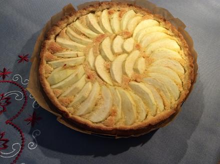 Apfel-Mandel-Tarte - Rezept - Bild Nr. 2