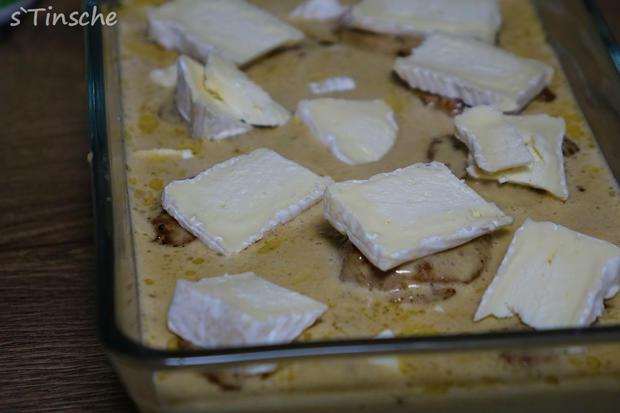 Schweinefiletmedaillons überbacken - Rezept - Bild Nr. 8975
