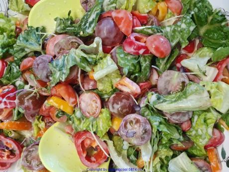 Gemischter Salat zum Erntedank - Rezept - Bild Nr. 8995