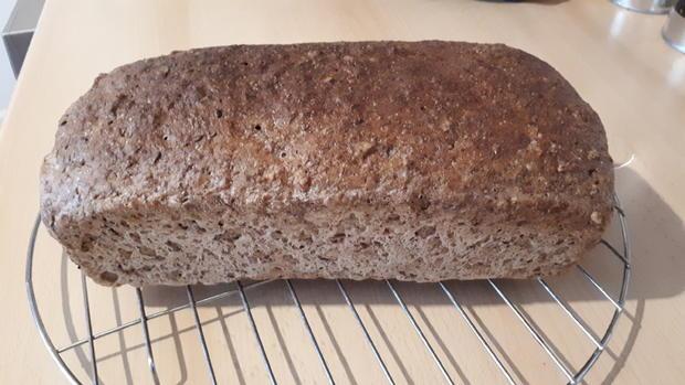 Dinkel-Lein-Brot mit Flöhen - Rezept - Bild Nr. 12