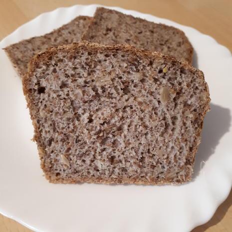 Dinkel-Lein-Brot mit Flöhen - Rezept - Bild Nr. 11
