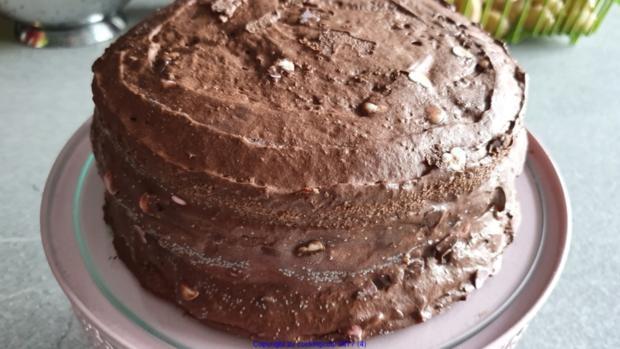 Schokowolken Torte oder Schokoträumchen - Rezept - Bild Nr. 4