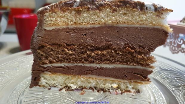 Schokowolken Torte oder Schokoträumchen - Rezept - Bild Nr. 10
