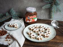 Haselnuss-Zimtsterne mit nutella - Rezept - Bild Nr. 2