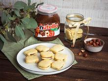 Kokos-Linzer-Plätzchen mit nutella - Rezept - Bild Nr. 2