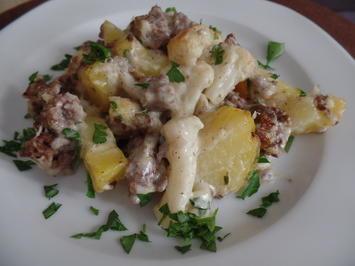 Kartoffel-Blumenkohl-Hackfleisch -Auflauf - Rezept - Bild Nr. 8999