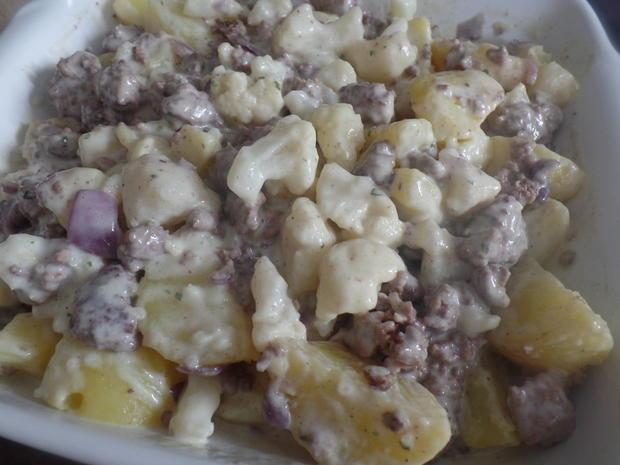 Kartoffel-Blumenkohl-Hackfleisch -Auflauf - Rezept - Bild Nr. 9000