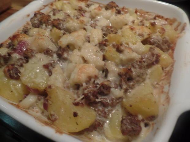 Kartoffel-Blumenkohl-Hackfleisch -Auflauf - Rezept - Bild Nr. 9002