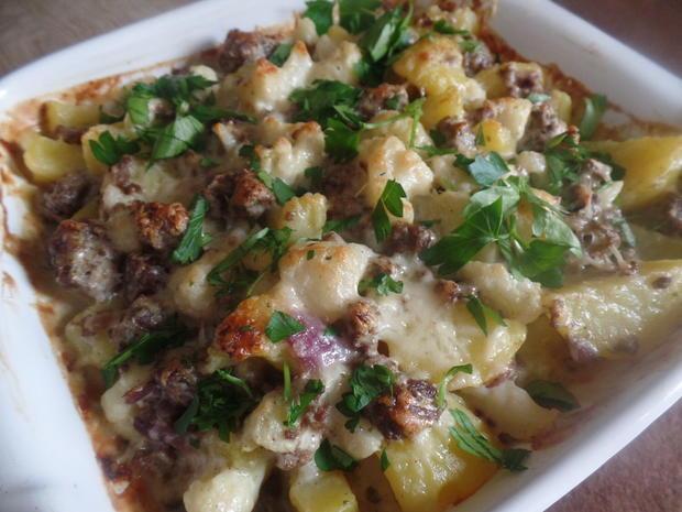 Kartoffel-Blumenkohl-Hackfleisch -Auflauf - Rezept - Bild Nr. 9003