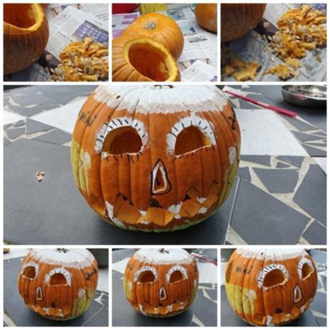 """""""Oma Löffel`s """" Halloween Torte für KID`s = kochbar Challenge 10.0 (Oktober 2019) - Rezept - Bild Nr. 2"""