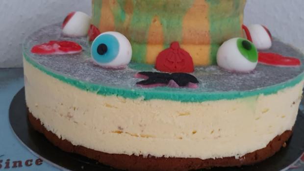 """""""Oma Löffel`s """" Halloween Torte für KID`s = kochbar Challenge 10.0 (Oktober 2019) - Rezept - Bild Nr. 17"""