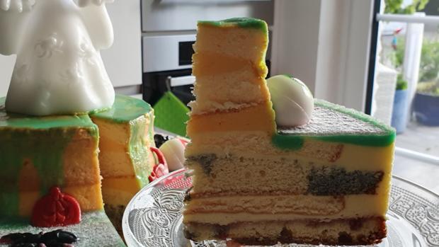 """""""Oma Löffel`s """" Halloween Torte für KID`s = kochbar Challenge 10.0 (Oktober 2019) - Rezept - Bild Nr. 21"""
