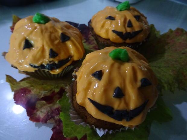 Kürbiskuchen-Muffins - Rezept - Bild Nr. 2