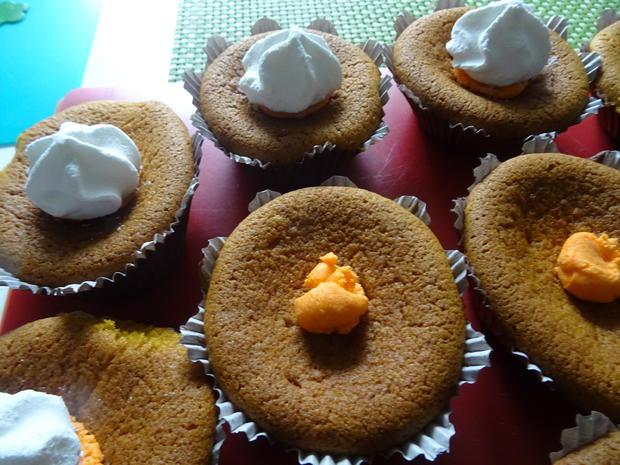 Kürbiskuchen-Muffins - Rezept - Bild Nr. 3