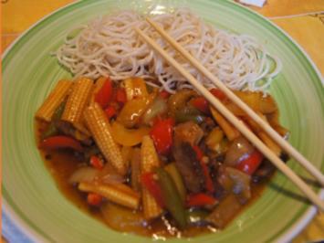 Rindfleisch-Gemüse-Wok mit Mie-Nudeln - Rezept - Bild Nr. 2