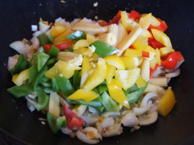 Rindfleisch-Gemüse-Wok mit Mie-Nudeln - Rezept - Bild Nr. 13