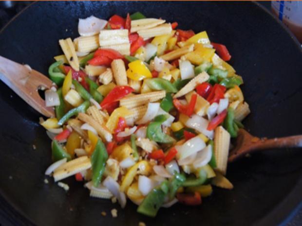 Rindfleisch-Gemüse-Wok mit Mie-Nudeln - Rezept - Bild Nr. 14