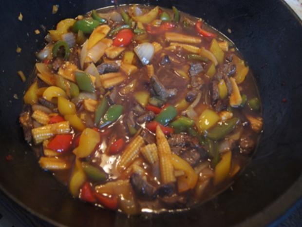 Rindfleisch-Gemüse-Wok mit Mie-Nudeln - Rezept - Bild Nr. 17