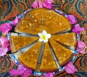 Birnenkuchen mit Orangenguss - Rezept - Bild Nr. 2