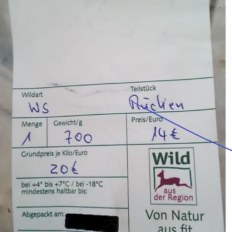 Wildschwein Gulasch mit Semmelknödel - Rezept - Bild Nr. 9042