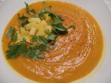 Kürbis-Linsen-Mango-Suppe - Rezept - Bild Nr. 9035