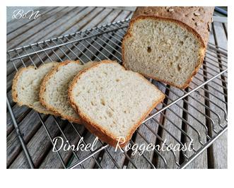 Rezept: BiNe` S DINKEL - ROGGENTOAST