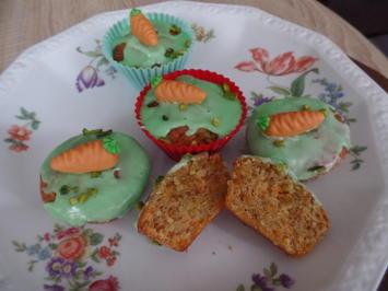 Rübli-Muffins mit weißer Schokolade - Rezept - Bild Nr. 9354
