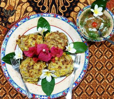 Würzige, indonesische Maisküchlein - Rezept - Bild Nr. 2