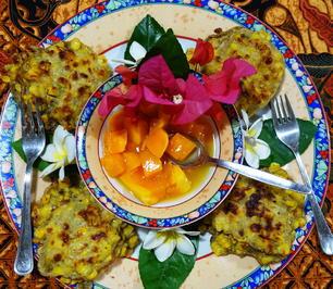 Süße indonesische Maisküchlein – Frikadel Manis - Rezept - Bild Nr. 2