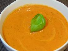 Paprika-Tomaten-Cremesuppe - Rezept - Bild Nr. 2
