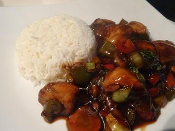 Soja-Huhn mit Gemüse aus dem Wok - Rezept - Bild Nr. 2